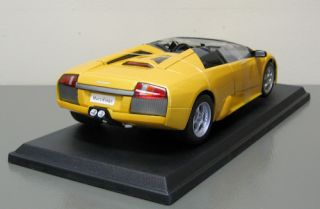 Lamborghini Murcielago Roadster Diecast Model Car Maisto 1 18 Scale