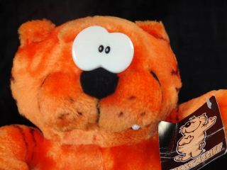 New 1997 Heathcliff Plush Big Fat Orange Cat Toy Lovey