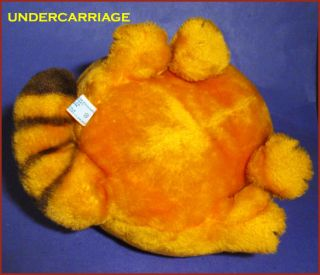 Dakin Vintage 1981 Big 12 Seated Garfield Cat Plush Stuffed Toy Prod