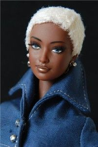 RARE AA Indigo Obsession by Byron Lars African American Barbie Doll