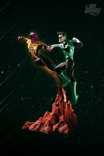 DC Direct Green Lantern vs Sinestro Mini Statue Set New
