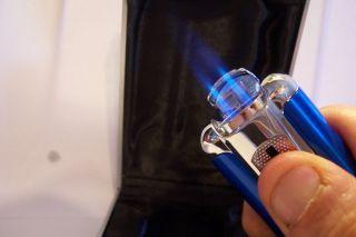 Oscar Double Torch Punch Cutter Cigar Lighter $80 Gift
