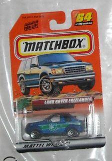 1999 Matchbox Land Rover Freelander 64 Diecast Oss