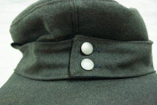 German Military NVA Hat Cap Size 59 Landgraf Bamberger Mutzen
