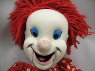 Original Larry Harmon Picture Bozo The Clown Eegee Doll