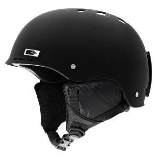 Holt Snow Snowboard Ski Helmet Matte Black Adult Size x Large