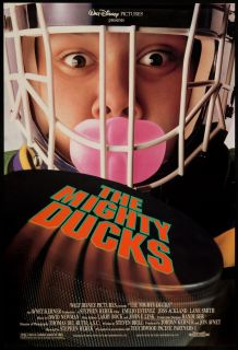 The Mighty Ducks 1992 Original U s One Sheet Movie Poster