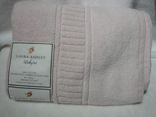Laura Ashely Lifestyles P Pink 30x56 Bath Towel Made in India
