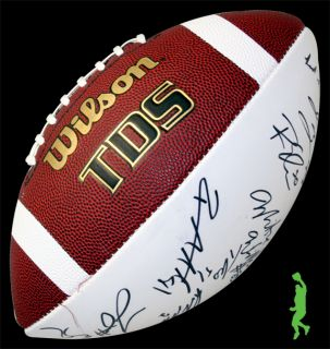 San Diego Chargers Team Signed Auto Wilson Football NFL COA