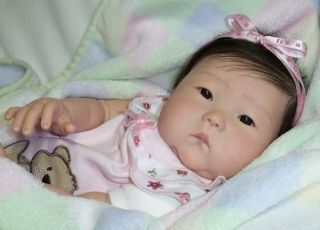 Reborn Asian Baby Girl Annelyn New Ping Lau Anming Doll