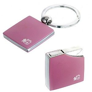Colibri Ribbon Pink Torch Flame Cigarette Lighter $80 Ladies