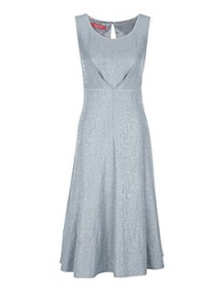 Jacques Vert Ritz jacquard dress Grey