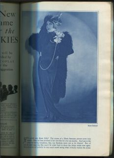 Photoplay Apr 1929 Clara Bow Cisco Kid Lillian Gish Gloria Swanson