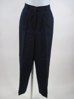 LAUREN RALPH LAUREN Navy Blue Silk Pants Slacks Size 6 Petite