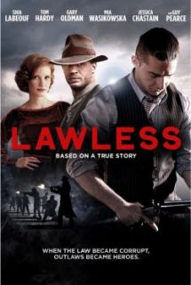 Lawless DVD New Shia Lebeouf Tom Hardy Guy Pearce