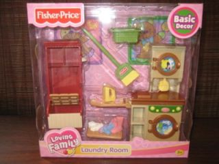 Dollhouse Furniture Laundry Room New Doll House Washer Dryer