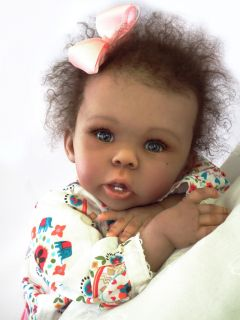 AA Biracial Beautiful Baby Girl Laura Laura Tuzio Ross Doll