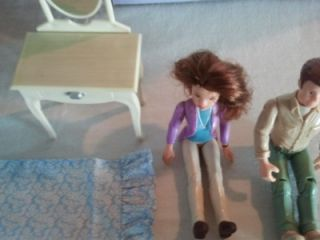 Vintage Laura Ashley~Room by Room~dollhouse~Master Bedroom Toys R