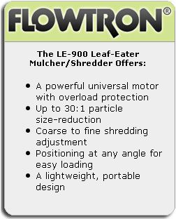 Flowtron Mulcher Electric Leaf Leaves Shredder Garbage Trash Bag Yard