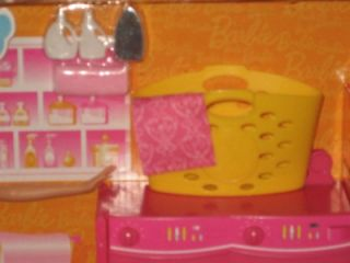 Barbie Laundry Room Furniture Washer Dryer Really Spins