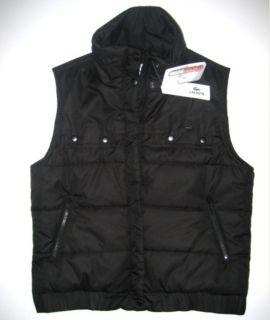 Authentic Lacoste Womens Vest 12 44 XL Black Croc Logo New