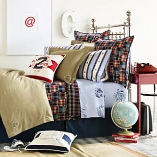 Ralph Lauren University Layne Madras Full Queen Quilt