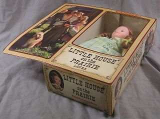 Knickerbocker Little House on The Prairie Doll Laura
