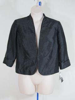 Le BOS Black Jacket Blazer Sz 16W Woman Plus Sz