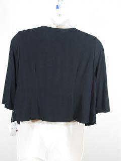 Le BOS Black Jacket Bolero Shrug Sz 14W 14 Woman Plus Sz $99