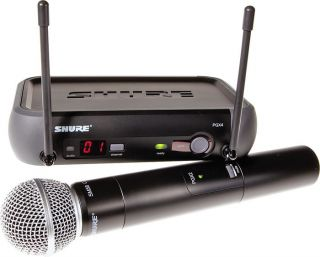 Hand Held Wireless Microphone Mic High End System 042406125970