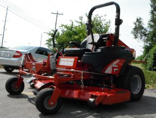 Used 72 Ferris IS5100Z Lawn Mower 33 HP Caterpillar Diesel Engine