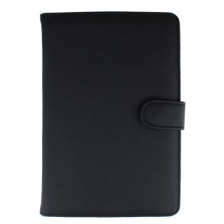 New  Kindle 3 Synthetic Leather Cover Case Jacket Black