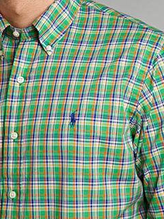 Polo Ralph Lauren Long sleeved spring checked shirt Green
