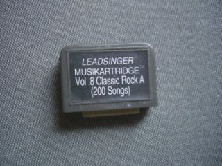 Leadsinger Karaoke Lead Singer Musikartridge Vol 8 Classic Rock A 200