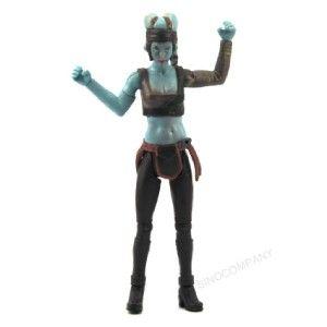 Star Wars Clone Wars Aayla Secura Jedi 2004 Action Figure SU15