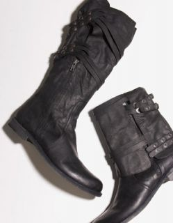LD Tuttle The Shifter Boot Black Leather 7 5 37 5 $725 Oak Barneys NY