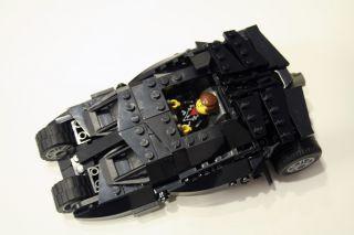 Custom Lego Batman Tumbler Minifigure Scale