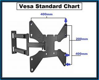 Wall Mount Bracket for 32 37 40 42 46 inch LCD LED TV Fits Vesa