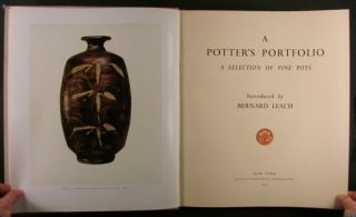 Bernard Leach on Antique Japanese Chinese English European Art Pottery