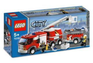 Lego City 7239 Fire Truck New in Box Lego 7239