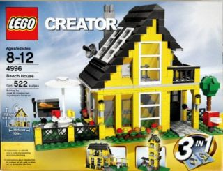 Lego Beach House 4996 with Box and Instructions Retired