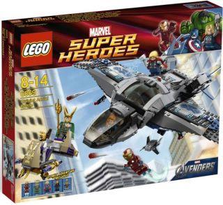 Lego Marvel Super Heroes Avengers Quinjet Aerial Battle 6869