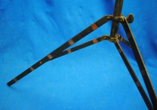 Antique Industrial Folding Music Stand Lecture Lamp Light Base Project