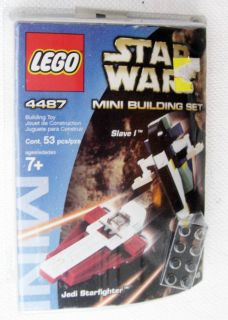 Lego Star Wars Mini Set Slave 1 SHIP 4487 New in Box 1DAYSHIPPING
