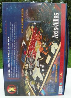 Axis Allies World War II Military Board Game Avalon Hill