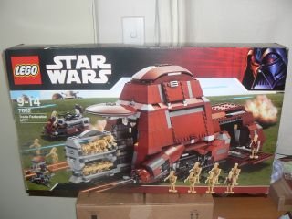 Lego Star Wars MTT Droid Carrier 7662 99 9 Boxed EXC