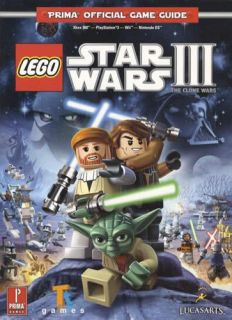 Lego Star Wars 3 Clone Wars Game Guide PS3 Wii Xbox 360