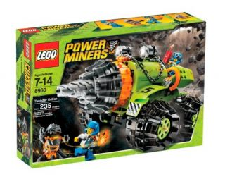 Features of LEGO Power Miners Thunder Driller (8960)