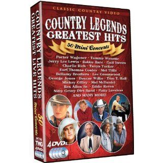 Country Legends 207 Greatest Hits 4 DVD Set 50 Mini Concerts 70 80s