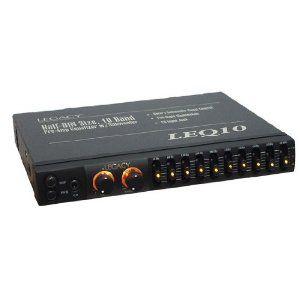 Legacy 10 Band Pre Amp Equalizer Suboowfer Control Car Audio EQ LEQ10A